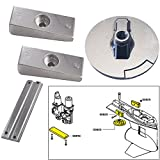 Tecnoseal Anode Kit w/Hardware - Mercury Verado 4 - Aluminum