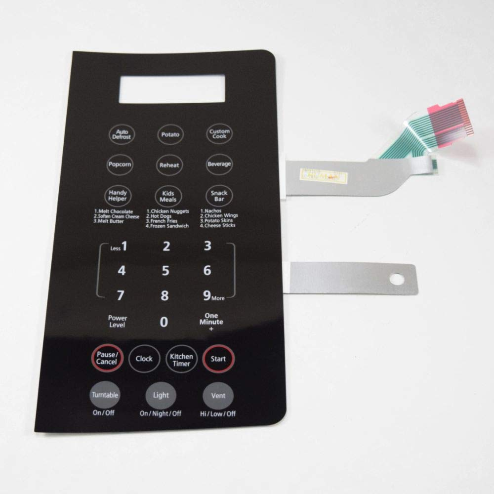Amazon.com: Samsung DE34-00304K Microwave Keypad Genuine ...