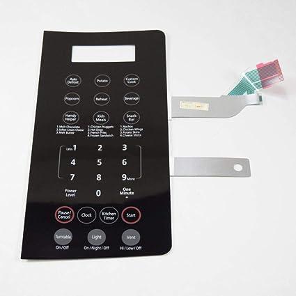 Amazon.com: Samsung DE34-00304K Microwave Keypad Genuine ...
