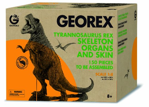 Georex T-Rex Skeleton with Organs and Skin by Geoworld