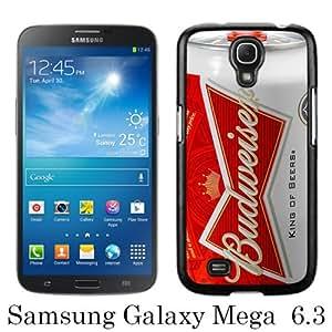 Samsung Galaxy Mega 6.3 case,Unique Design Budweiser Black cell phone case for Samsung Galaxy Mega 6.3 i9200 i9205