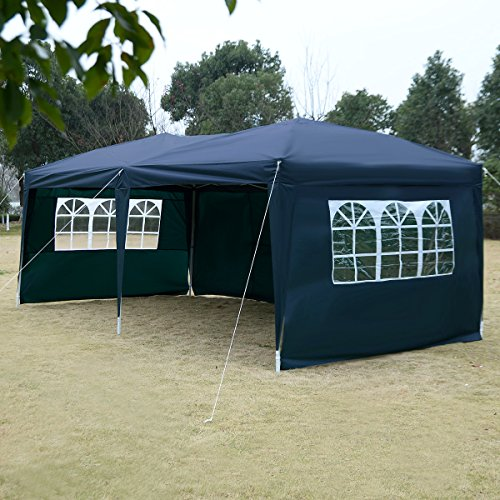 Tangkula 10 X20 Ez Pop Up Tent Gazebo Wedding Party
