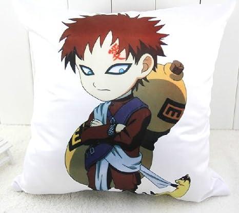 Amazon.com: Anime japonés Naruto Gaara DE almohada doble ...