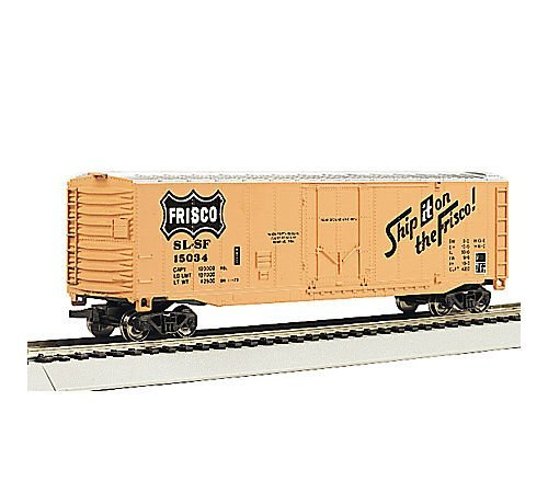 Bachmann Trains Frisco 50' Plug-Door Box Car-Ho Scale Bachmann 50' Plug Door Box