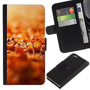 JackGot ( Natura Bella Forrest Verde 43 ) Apple (4.7 inches!!!) iPhone 6 / 6S la tarjeta de Crédito Slots PU Funda de cuero Monedero caso cubierta de piel