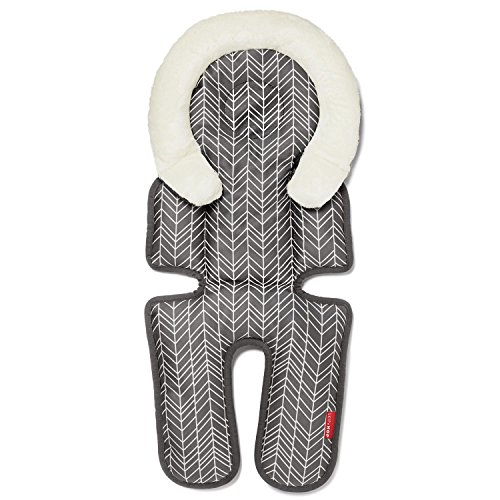 Skip Hop Stroll & Go Cool Touch Infant Support, Grey Feather
