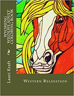 Book Wyoming Wildlife Adult Coloring Book: Wild-Side Meditation and Relaxation