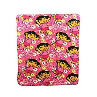 "Dora ""Hola"" Fleece Character Blanket 50 x 60-inches"