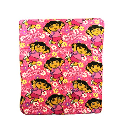 The Northwest Company Dora Hola Fleece Character Blanket 50 x 60-inches ()