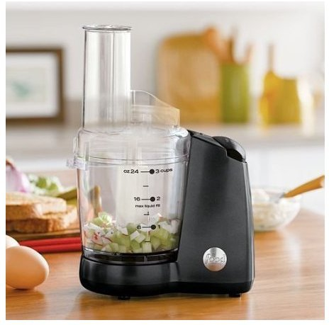 Food Network 3-Cup Mini Food Processor and Chopper