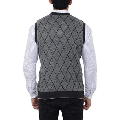 51tWERtLTsL. SS500  - aarbee Men's Woolen Reversible Sweater