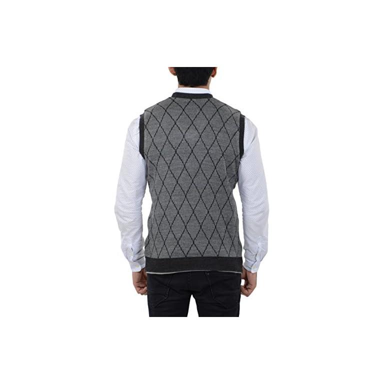 51tWERtLTsL. SS768  - aarbee Men's Woolen Reversible Sweater