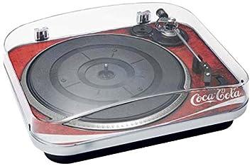 BigBen TD120 - Tocadiscos, diseño Coca Cola: Amazon.es: Electrónica