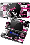 Scene Kid Girl Skull - Decal Style Skin fits Nintendo 3DS (3DS SOLD SEPARATELY)