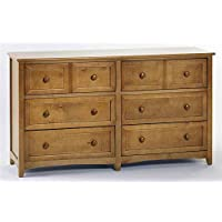 NE Kids School House 6 Drawer Dresser in Pecan