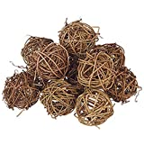 Small 2'' Grapevine Balls Set/12