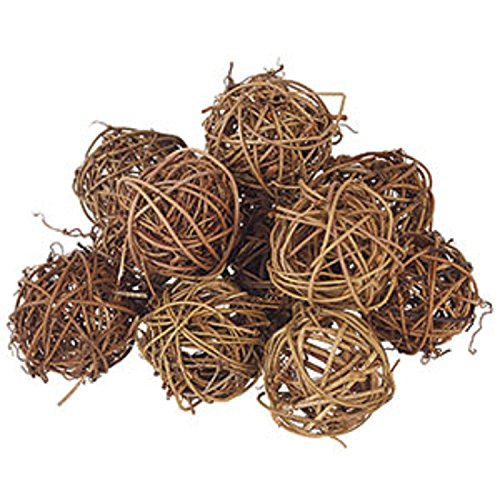 Small 2'' Grapevine Balls Set/12 by The Country House Collection