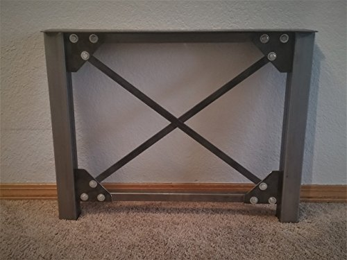 Cheap Metal Table Legs – Industrial X Frame Legs