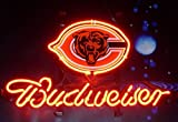 Desung Brand New 14''x10'' B udweiser Beer Sports Team CB Neon Sign (Various sizes) Bar Pub Man Cave Business Glass Neon Lamp Light DF16