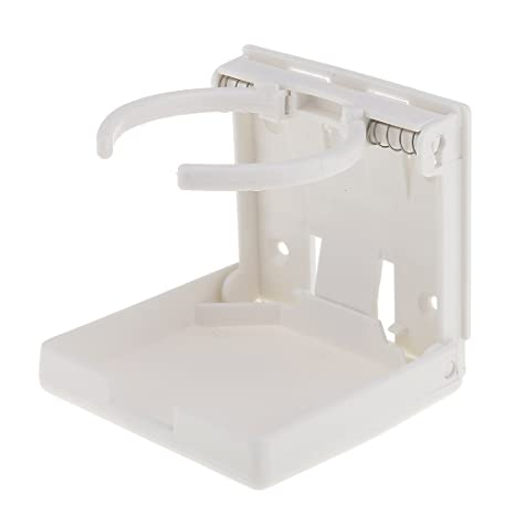 Linkstyle 2-Pack Universal einstellbar Faltschale Getr/änkehalter Auto LKW Boot Van Home Kunststoff 99mm