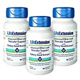 life extension celery extract - Life Extension Advanced Olive Leaf Vascular Support with Celery Seed Extract 60 Vegetarian Capsules - 3-Pak by Life Extension