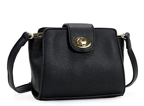 Scarleton Mini Stylish H1870 Crossbody Brown Bag Modern wAOCFZwq