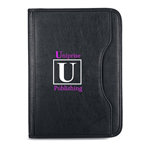 Deluxe Executive Padfolio - 13 Quantity - $18.50 Each - BRANDED / SCREEN PRINTED with YOUR LOGO / CUSTOMIZED by Sunrise Identity