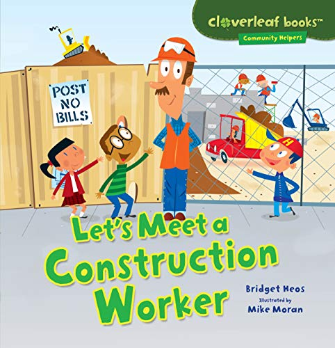 Let's Meet a Construction Worker (Cloverleaf Books, used for sale  Delivered anywhere in USA