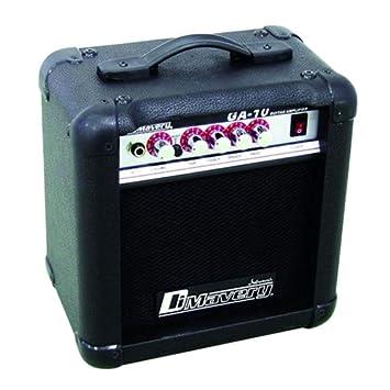 DIMAVERY GA-10 - Amplificador para guitarra eléctrica 10 W: Amazon.es: Instrumentos musicales