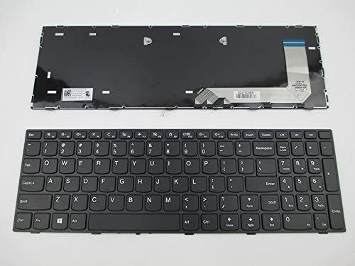 wangpeng New For Lenovo V110-15AST V110-15IAP V110-15ISK US keyboard with frame
