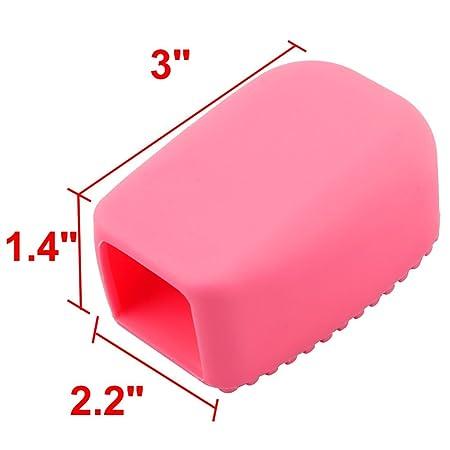 Amazon.com: eDealMax silicona casero cocina lavandería portátiles lavar la ropa de fregado o limpieza con herramienta pincel de color rosa: Kitchen & Dining