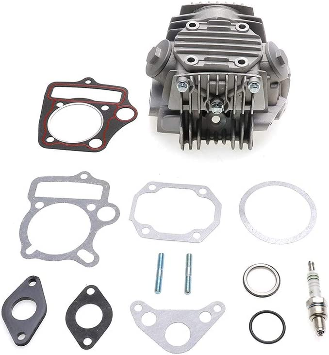 MotorFansClub Completed Cylinder Head Gasket Kit Fit For Compatible With 4 Stroke 110cc ATV QUAD Go Kart Dirt Bike Engine