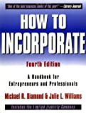 How to Incorporate, Michael R. Diamond and Julie L. Williams, 047139257X
