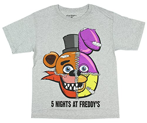 Five Nights At Freddy's Split Face Boys Youth T-shirt Licensed