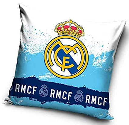 Amazon.com: Real Madrid Crest Cojín: Sports & Outdoors