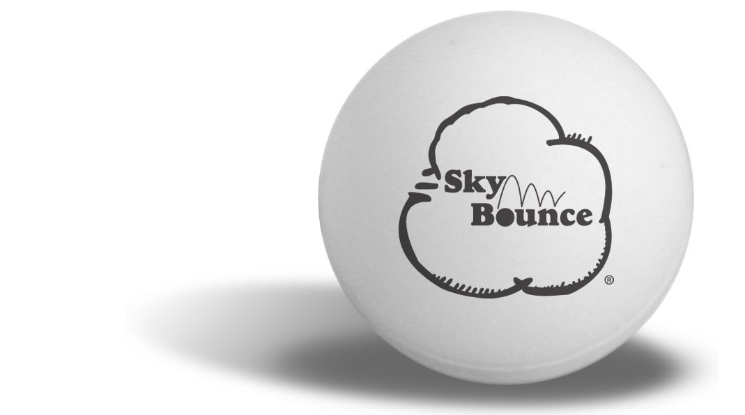 Sky Bounce Ping Pong Balls (72-Pack)