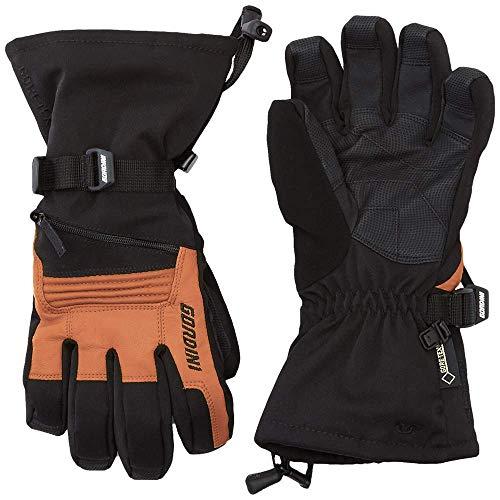 Gordini Men's GTX Storm Trooper II Gloves (Black/Tan, Large)