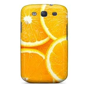 Galaxy S3 Case Cover Skin : Premium High Quality Orange Slices Case