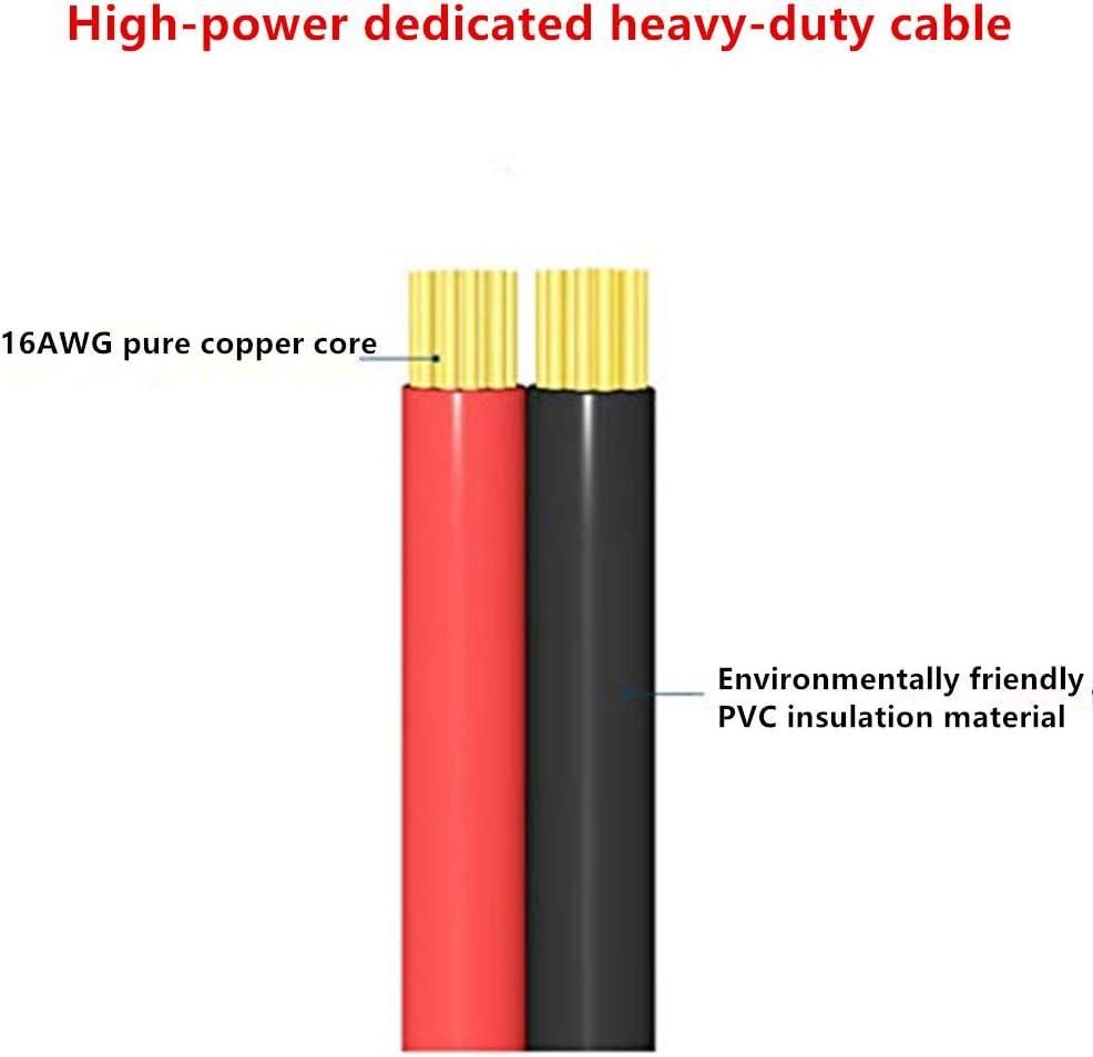 Cordon dalimentation pour allume-cigare de voiture 12v//24v C/âble adaptateur pour allume-cigare 1 m