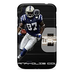Excellent Cell-phone Hard Cover For Samsung Galaxy S4 (Zko8983POLp) Provide Private Custom Colorful Indianapolis Colts Skin