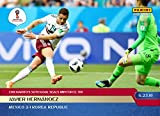 2018 JAVIER HERNANDEZ CHICHARITO's 50th GOAL PANINI INSTANT WORLD CUP SOCCER CARD #58 + TOPLOADER