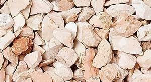 Polvos, granulado para jardín, color coral 8-12 mm (1200 kg)