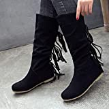 HebeTop Knee High Boots for Women Moccasins