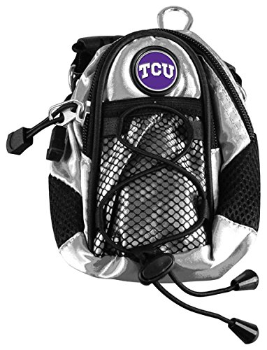 NCAA Texas Christian Horned Frogs - Mini Day Pack - Silver by LinksWalker