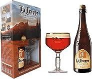 Kit La Trappe Trippel - 1 gfa 750 ml + 1 taça 250 ml La Trappe 750Ml