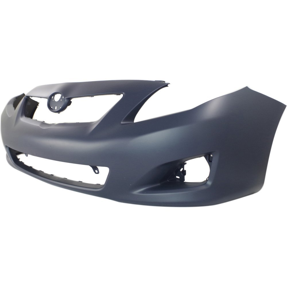 Front Bumper Cover Primed Compatible with 2009-2010 Toyota Corolla