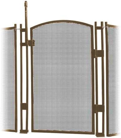 visiguard cierre/cierre con piscina valla de niños seguridad puerta 4 pies de altura y 12 pies de largo: Amazon.es: Jardín