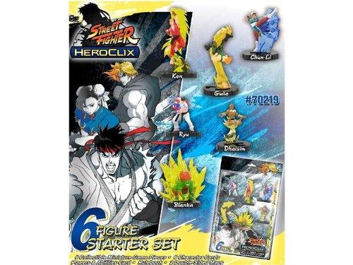 無料発送 Street Fighter Heroclix Deluxe 6 Starter Figures Game Includes 6 Street Figures B0051QCMRM, メープル レーン ゴルフ:a9e31029 --- cliente.opweb0005.servidorwebfacil.com