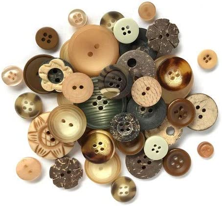 50pcs//Pack Mixed Size Round Button 9-25mm 4 Holes Apparel Sewing Random Color