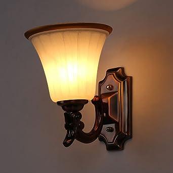 Bcyhh Wandlampe Modern Rustikal Elegant Wandleuchte E27 ...